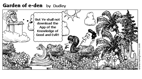 Garden of e-den by Dudley
