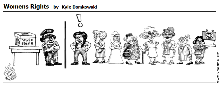 Womens Rights by Kyle Domkowski