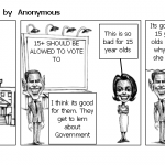 political cartoon 1