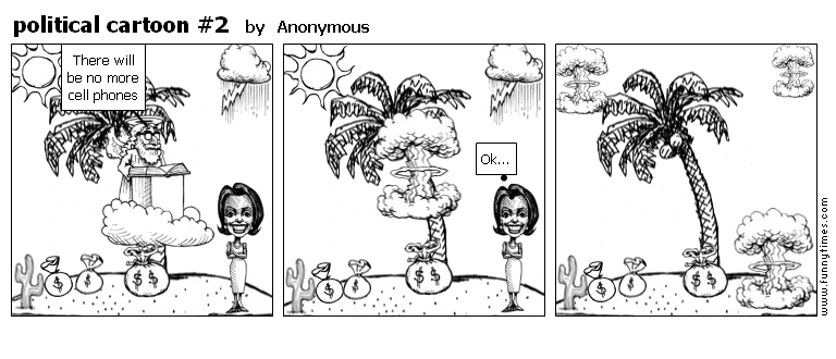 political cartoon 2 by Anonymous