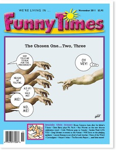 Funny Times November 2011 issue cover