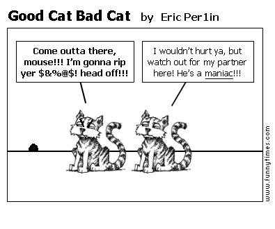 Good Cat Bad Cat by Eric Per1in