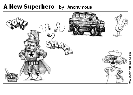 A New Superhero by Anonymous
