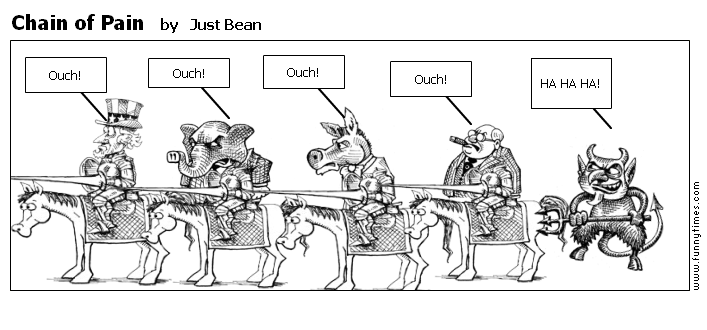 Chain of Pain by Just Bean