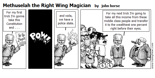 Methuselah the Right Wing Magician by john horse