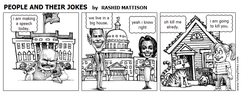 PEOPLE AND THEIR JOKES by RASHID MATTISON