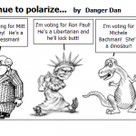 Republicans continue to polarize…