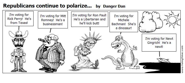 Republicans continue to polarize... by Danger Dan