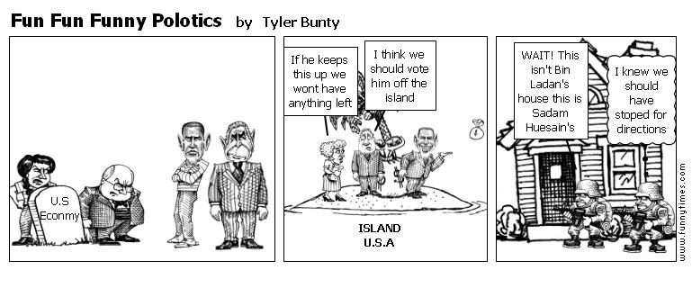 Fun Fun Funny Polotics by Tyler Bunty