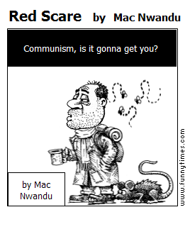 Red Scare by Mac Nwandu