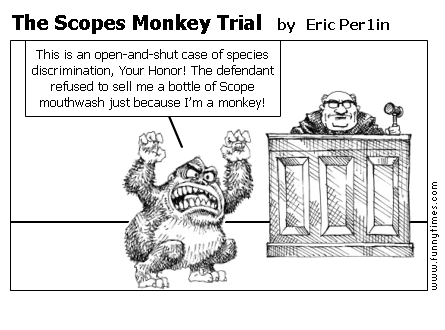 The Scopes Monkey Trial by Eric Per1in