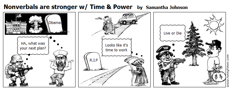 Nonverbals are stronger w Time  Power by Samantha Johnson