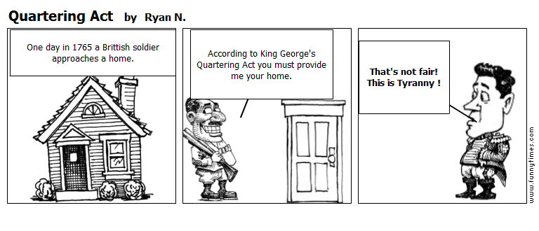 Quartering Act by Ryan N.