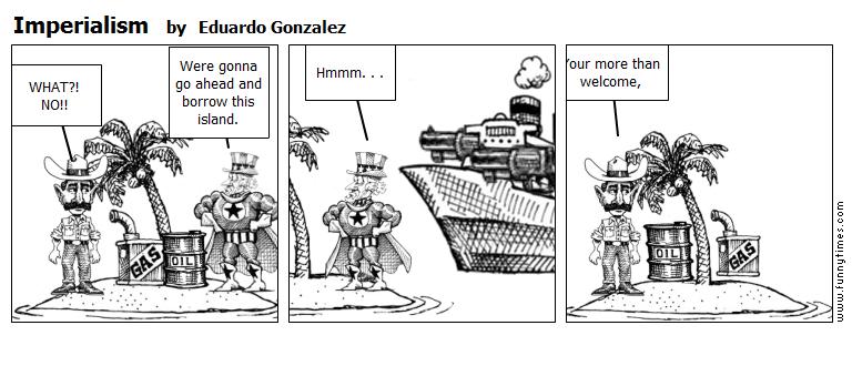 Imperialism by Eduardo Gonzalez