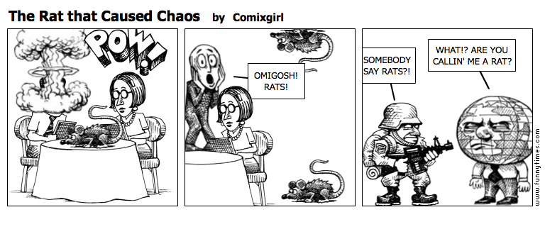 The Rat that Caused Chaos by Comixgirl