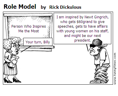 Role Model by Rick Dickulous