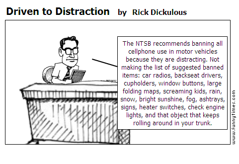 Driven to Distraction by Rick Dickulous