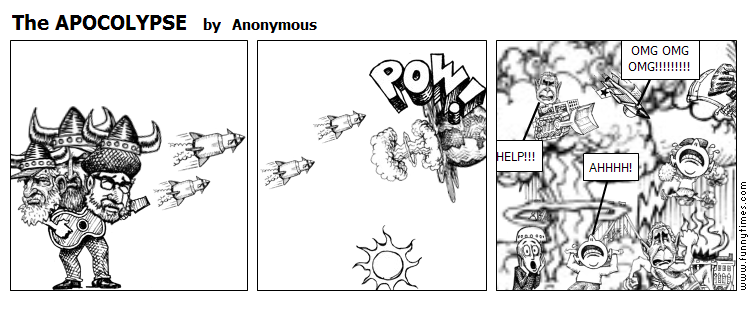 The APOCOLYPSE by Anonymous