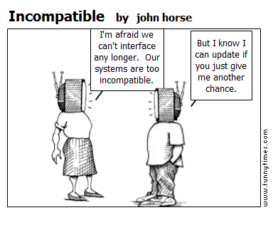 Incompatible by john horse