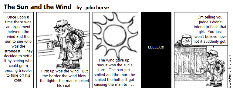 The Sun and the Wind by john horse