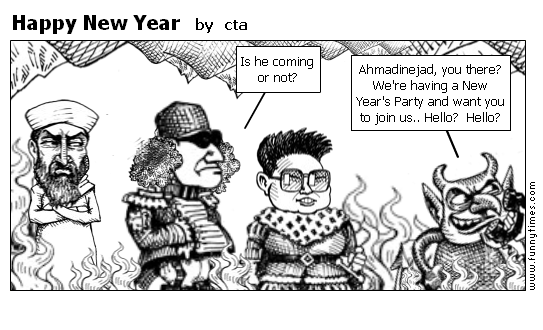 Happy New Year by cta