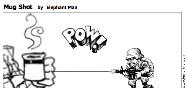 Mug Shot by Elephant Man