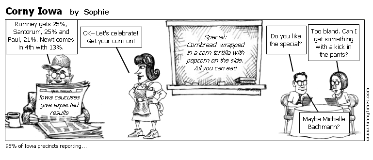 Corny Iowa by Sophie