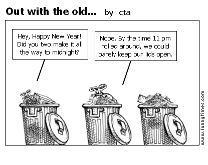 Out with the old... by cta