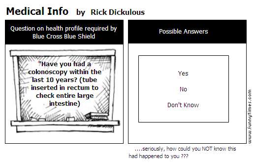 Medical Info by Rick Dickulous
