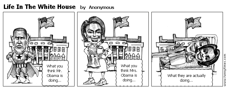 Life In The White House by Anonymous