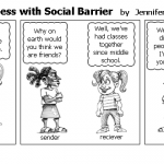 Communication Process with Social Barrie