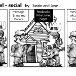 communication model – social