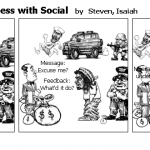 Communication Process with Social