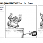 King Kong Doesn't like government…