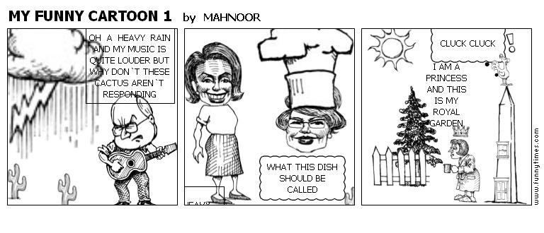 MY FUNNY CARTOON 1 by MAHNOOR