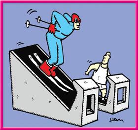 Ham - Treadmill Skiing