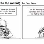 Groundhog Day talk to the rodent