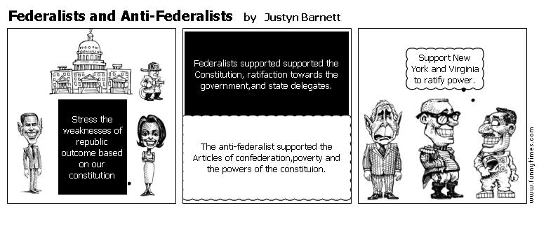 Federalist vs anti federalist debate essay