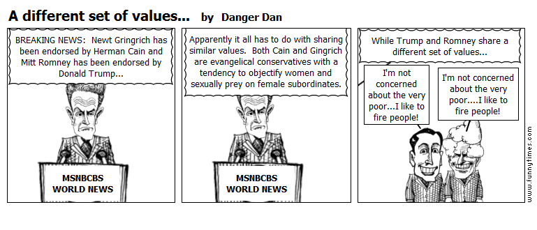 A different set of values... by Danger Dan