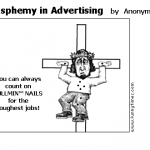 Blasphemy in Advertising