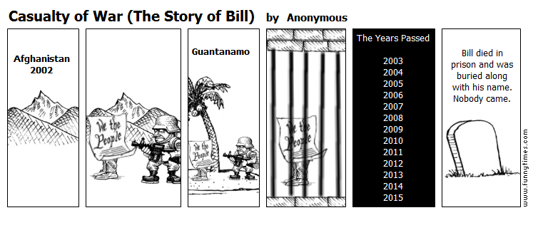 Casualty of War The Story of Bill by Anonymous