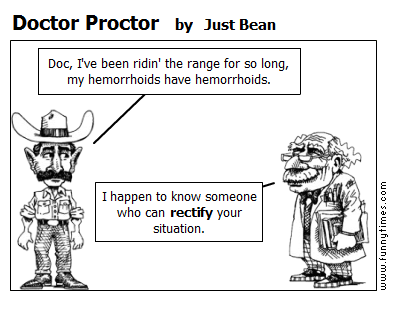Doctor Proctor by Just Bean