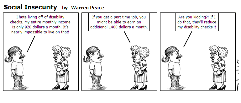 Social Insecurity by Warren Peace