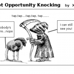 Not Opportunity Knocking