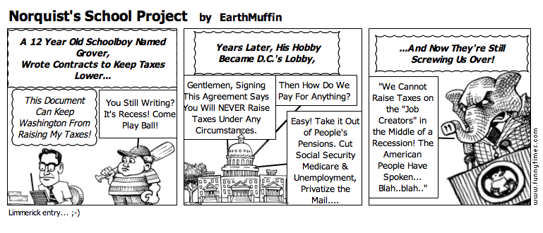 Norquist's School Project by EarthMuffin