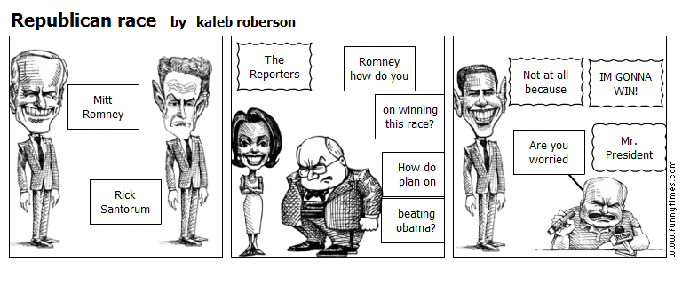 Republican race by kaleb roberson
