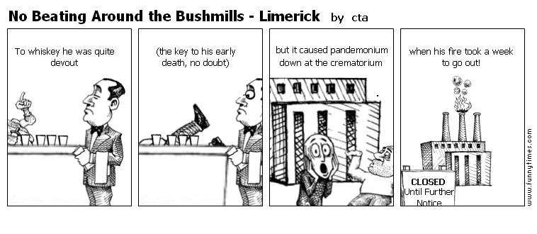 No Beating Around the Bushmills - Limeri by cta