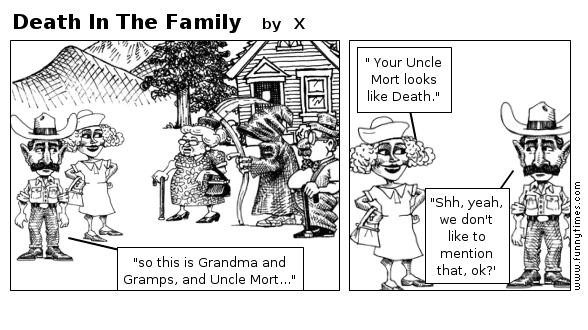 Death In The Family by X