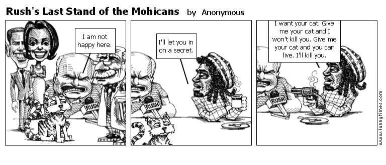 Rush's Last Stand of the Mohicans by Anonymous