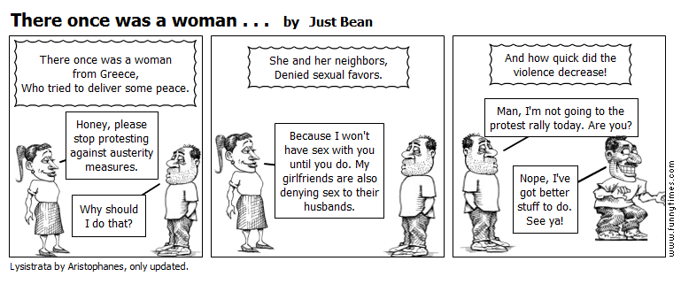 There once was a woman . . . by Just Bean